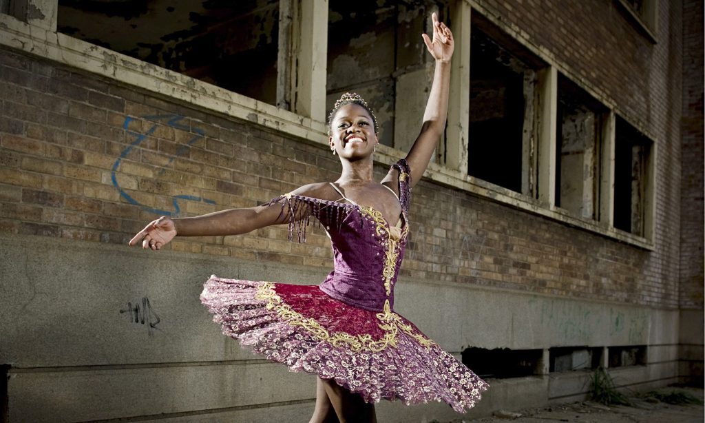 Ballet dancer Michaela DePrince