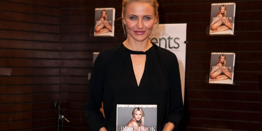"LOS ANGELES, CA - JANUARY 16: Cameron Diaz attends the book signing for ""The Body Book"" at Barnes & Noble bookstore at The Grove on January 16, 2014 in Los Angeles, California. (Photo by Gabriel Olsen/Getty Images)"