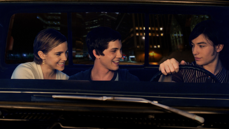 (L-R) EMMA WATSON, LOGAN LERMAN and EZRA MILLER star in THE PERKS OF BEING A WALLFLOWER Ph: John Bramley © 2011 Summit Entertainment, LLC. All rights reserved.