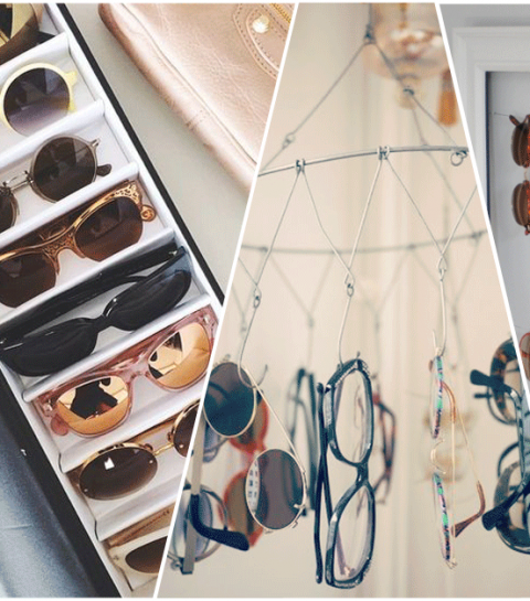 How to: je zonnebrillen stijlvol opbergen