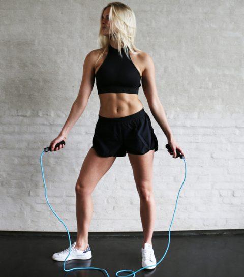 #ElleWorkout: touwtjespringen