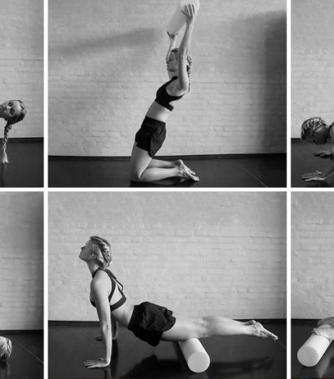 #ELLEworkout: rol je lichaam strak