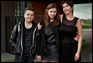 Thomas De Smet (Sep), Romy Louise Lauwers (Eva) en Tiny Bertels (Sylvia)