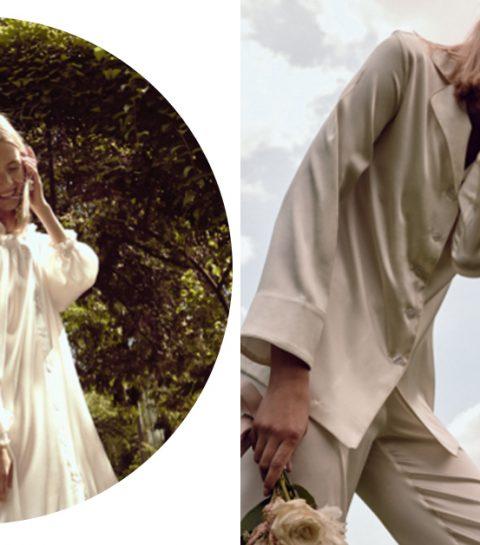 Trend: de bruid in pyjama
