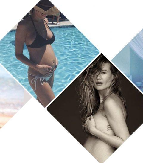 30 x hot en hoogzwanger
