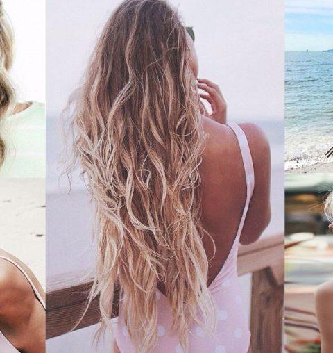 10 stijlvolle strandkapsels