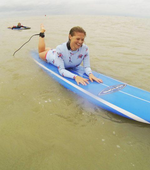 Getest: surfen op de Noordzee