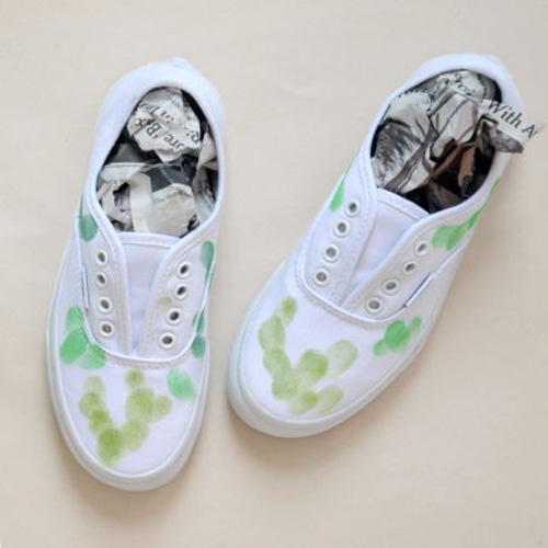 schoenenkrantenpapier