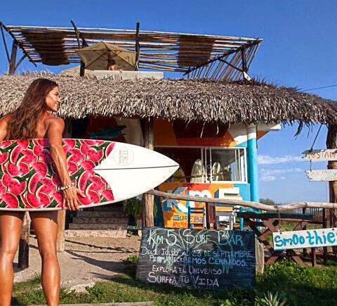 Dit is het enige echte surfer dieet