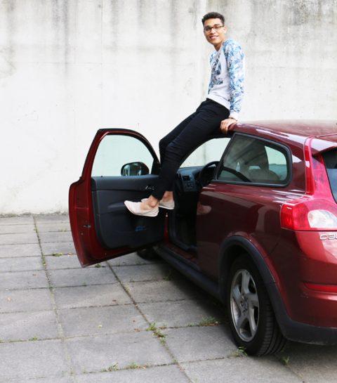 ELLE Carpool: in de koffer van Aster Nzeyimana