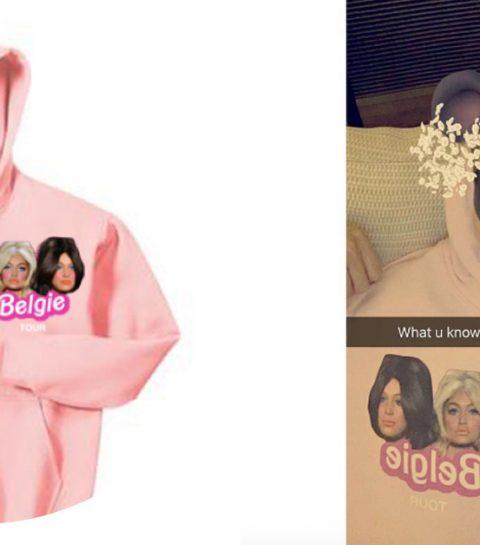 Gigi en Bella Hadid lanceren België sweater
