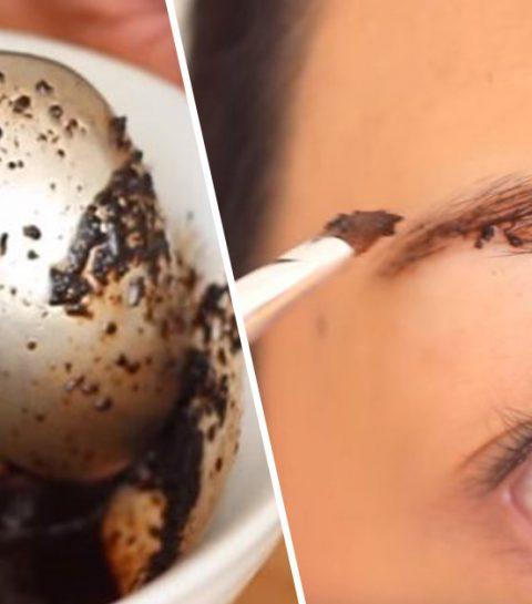 DIY: tint je wenkbrauwen met koffie en chocolade