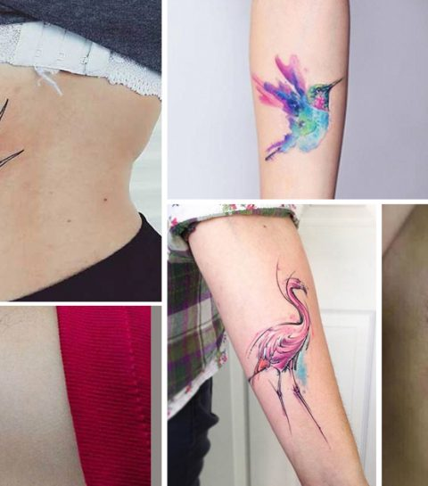 Trend alert: de aquarel tattoo