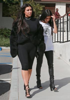 Kim Kardashian fietsbroek 1