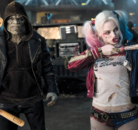 Steel de stijl: Margot Robbie in Suicide Squad