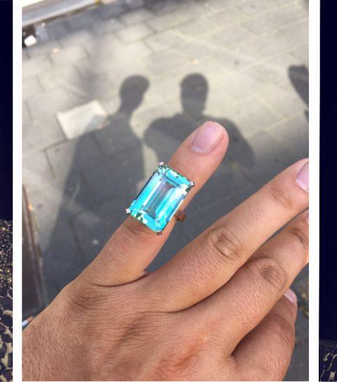 Alicia Keys krijgt exclusieve Belgische ring cadeau