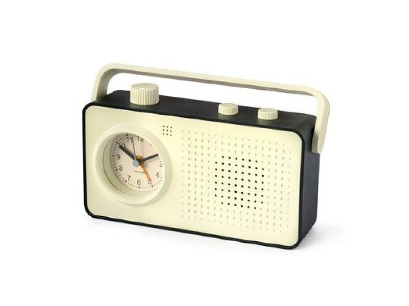 balvi-retro-radio-alarmklok-zwart