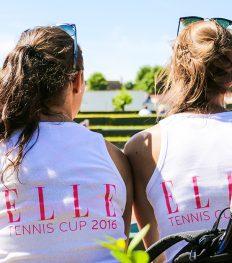Bekijk hier alle foto's van de ELLE Tennis Cup 2016