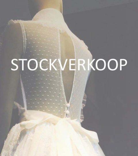 Deze iconische Belgische bruidswinkel houdt een stockverkoop