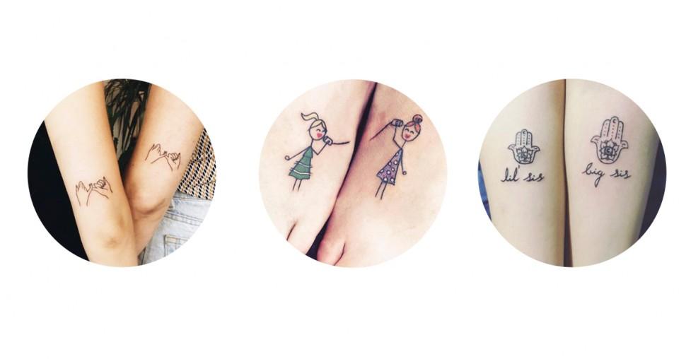 20 Originele Tatoeages Voor Zussen Ellebe