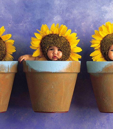 Zo zien de bloempotbaby's van Anne Geddes er vandaag uit