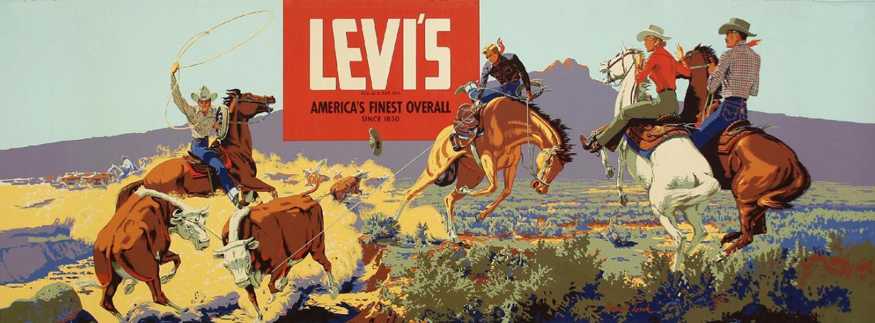 levis-vintage-poster