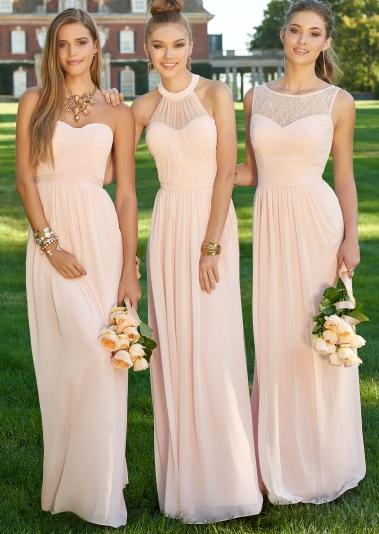 Pinterest populairste jurk bruidsmeisjes 1