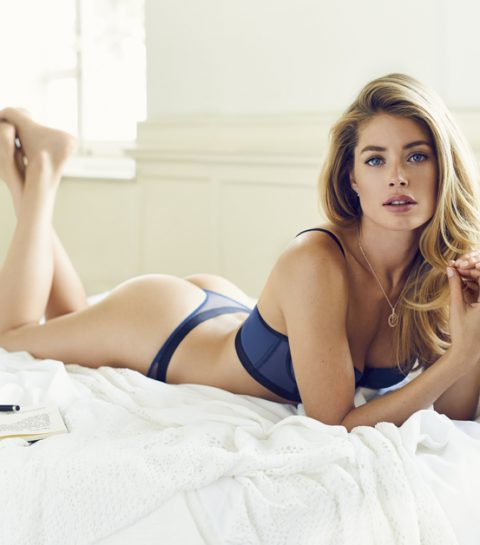 Interview: lingerie talk met Doutzen Kroes