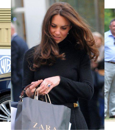 Kate Middleton opnieuw gespot in budgetmerk