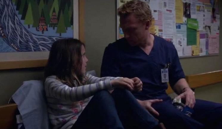 Millie in Grey's anatomy