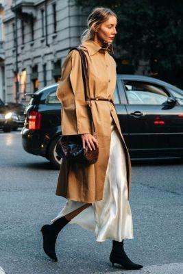 slip dress, trend, herfst, winter, 2018, jurk, tips, outfit, inspiratie, mode