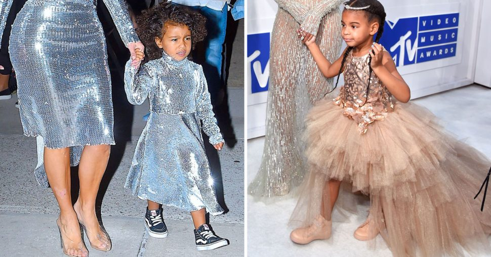 North West And Blue Ivy