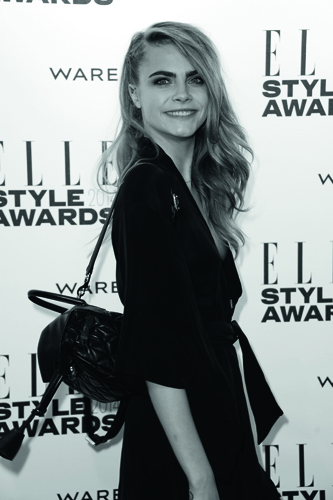 LONDON, ENGLAND - FEBRUARY 18: Model Cara Delevingne attends the Elle Style Awards 2014 at one Embankment on February 18, 2014 in London, England. (Photo by Ian Gavan/Getty Images)
