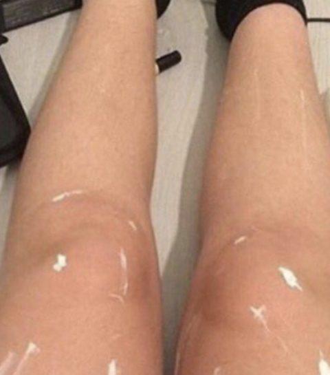 Waarom het internet in de ban is van deze glimmende benen