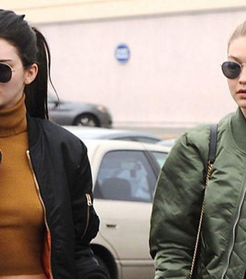 Spotted: Kendall Jenner en Gigi Hadid dragen Belgisch sportlabel