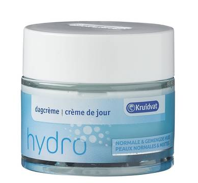 Hydro Dagcrème voor de Normale en Gemengde Huid van Kruidvat, 2,25 euro