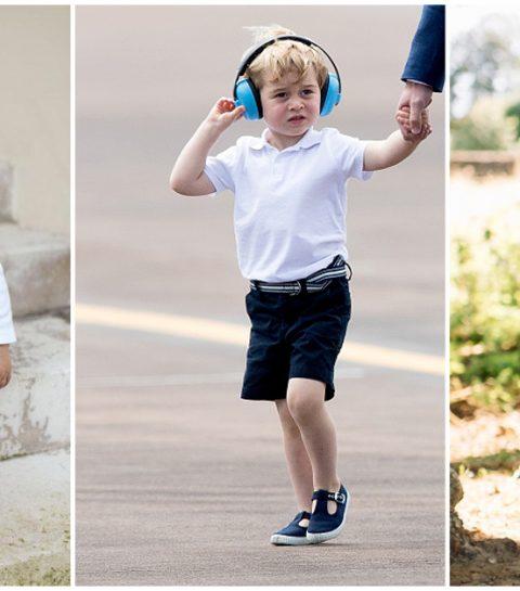 Dit is waarom prins George altijd een korte broek draagt