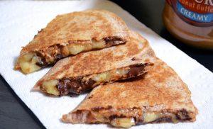 snack_pindakaas_healthy_recept_quesedilla