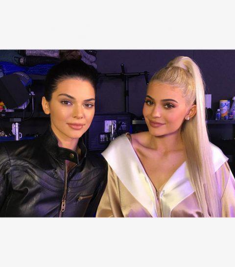 Kendall Jenner gespot met opvallend vollere lippen