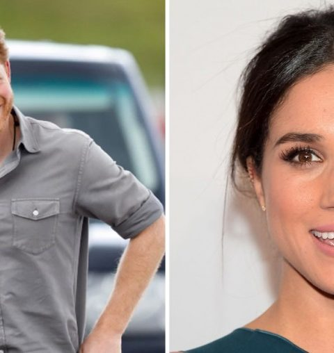 Prins Harry reageert voor het eerst op zijn relatie met Meghan Markle
