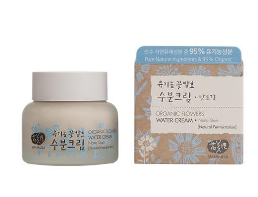 Organic Flowers Water Cream van Whamisa