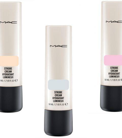 M.A.C lanceert  vier nieuwe strobe creams