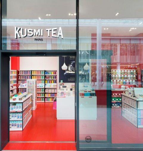 Kusmi Tea opent zijn eerste winkel in België