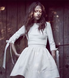 20 sprookjesachtige bruidsjurken die je doen verlangen naar een winterhuwelijk