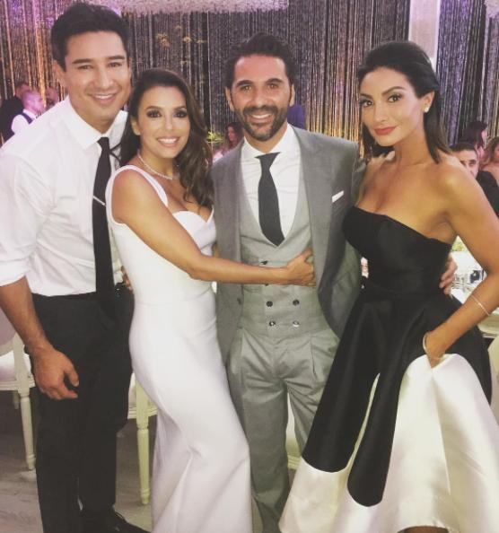 eva longoria wedding getrouwd 2016