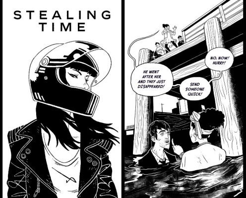 chanel-horloge-strip-comic