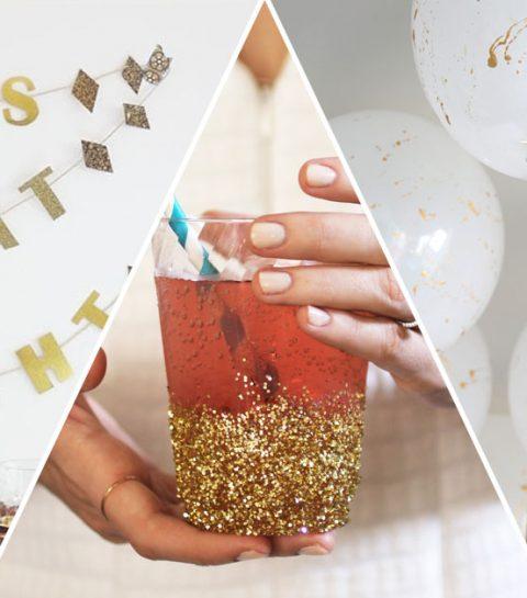 7 originele manieren om je nieuwjaarstafel te versieren