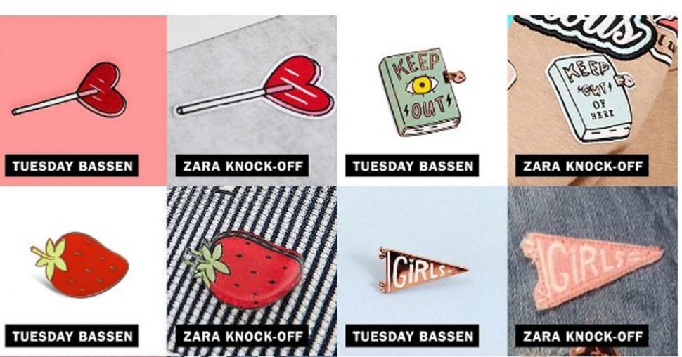 Design fake namaak vals labels zara ketens fast fashion see now buy now