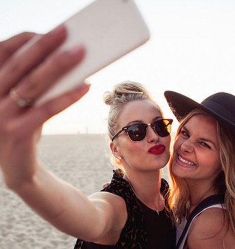 Dit is nu al de selfie trend van 2017