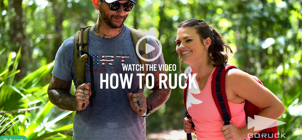How to ruck
